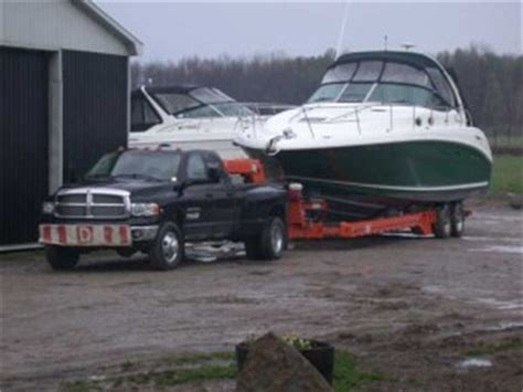 Boat Transport Ontario by Boat Hauling And Transportation In The Orillia Barrie