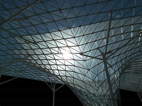 tensile structure glass steel tensile structure