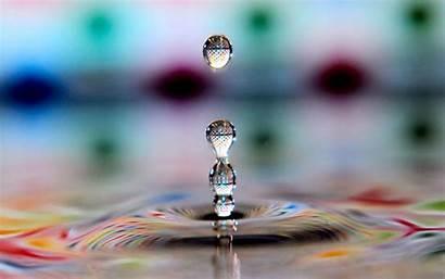 3d Graphics Wallpapers Patterns Water Drop Desktop