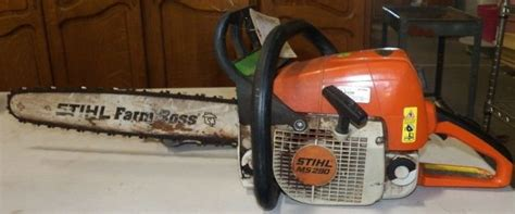 Stihl Chain Saw The Farm Boss With