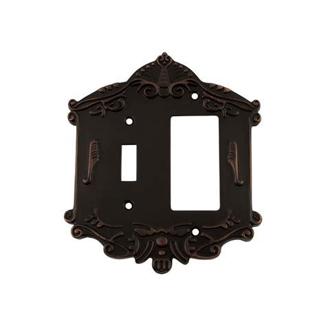 Nostalgic Warehouse Victorian Switch Plate with Toggle and