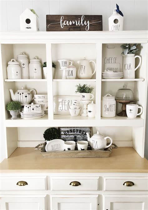Kitchen Hutch Display by Dunn Hutch Display Cottage And Farmhouse Vignette