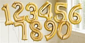 image gallery number balloons With small letter balloons party city