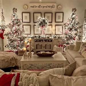 30, Cozy, And, Wonderful, Rustic, Farmhouse, Christmas, Decorating, Ideas