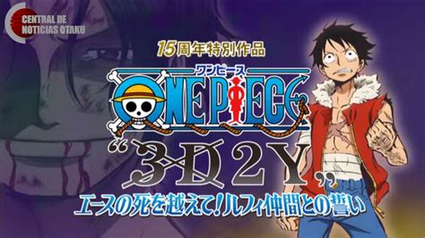 One Piece 3d2y [special 15th Anniversary] Bd[sub Indo