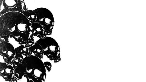 awesome black and white wallpapers cool skulls 50 best black and white wallpapers