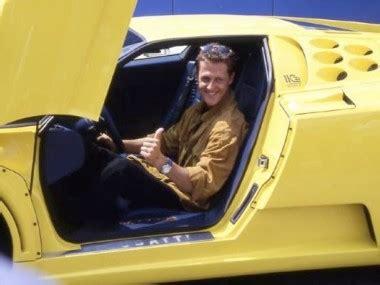Por un lado la carrocería está pintada en color amarillo, y por otro porque es el único bugatti eb 110 ss con. La Bugatti EB Super Sport de Michael Schumacher est en vente ! - Voitures.com