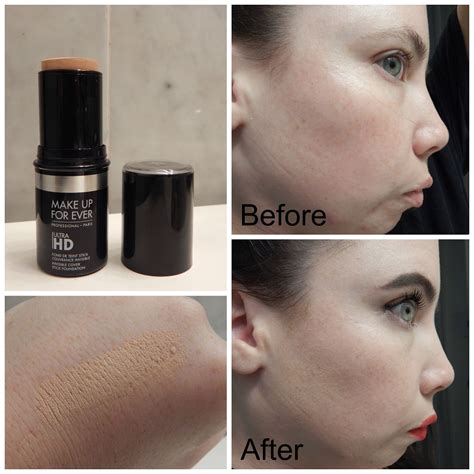 Makeup Forever Hd Stick Foundation Review  Mugeek Vidalondon