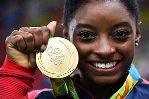 Simone Biles becomes fourth gymnast to win 4 gold medals ...