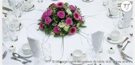 decoration de table pour mariage pas cher le mariage