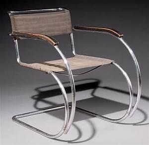 Fauteuil Mies Van Der Rohe : ludwig mies van der rohe 1886 1969 fauteuil 39 mr 20 39 le mod le cr en 1927 celui ci dit ~ Melissatoandfro.com Idées de Décoration