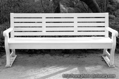 Bench Chair by Bench Chair Photo Picture Definition At Photo Dictionary