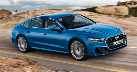 2019 Audi A7 Makes Its First Us Appearance At The Detroit