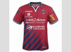clermont foot Maillots Foot Actu