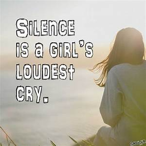 Images Of Sad Alone Girl With Quotes | Wallpaper Images
