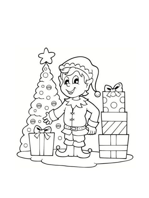 Coloriage Lutin De Noël  20 Modèles à Imprimer