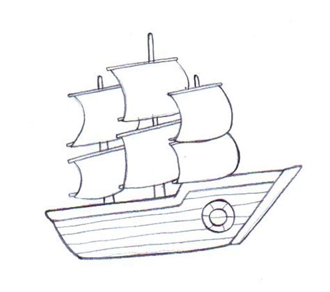 How To Make A Boat Go Forward by Draw A Boat To Draw Drawings And Draw
