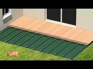 Pose De Lame De Terrasse : pose d 39 une terrasse en bois avec perfect rail fixation ~ Edinachiropracticcenter.com Idées de Décoration