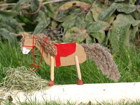 bricolage fabriquer  cheval sauvage