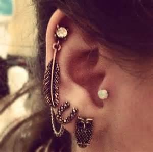 funky earings 50 beautiful ear piercings and design