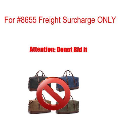 bid on travel no bid markroyal canvas leather travel bags freight