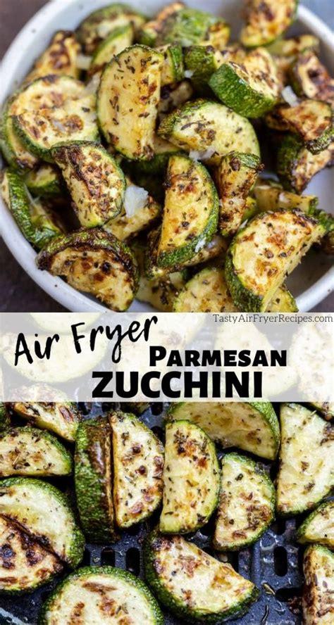 fryer air zucchini parmesan recipes side dish