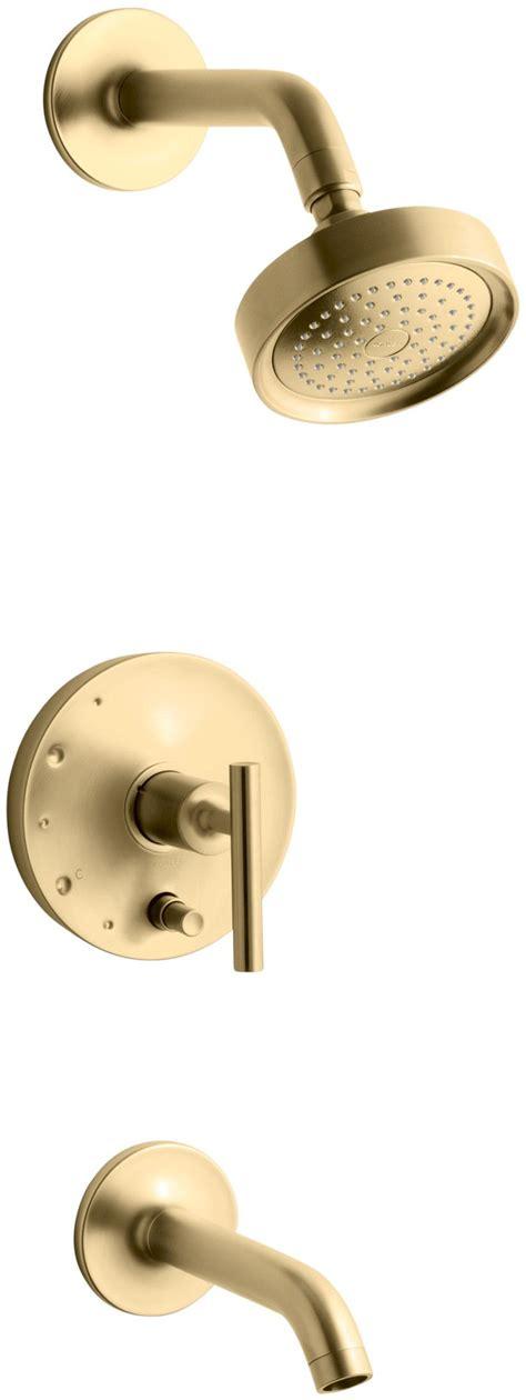 Kohler Shower Diverter by Purist Pressure Balancing Bath And Shower Faucet Trim