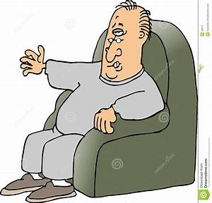 Man In Armchair Clipart Clipart Suggest