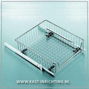 Lade Inrichting by Uittrekmand Binnenlade Voor Keukenkast Kast Inrichting Nl