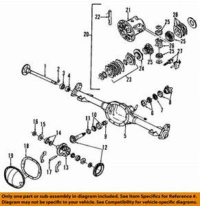 Gm Rear Differential Rear Pinion Bearing 22510042