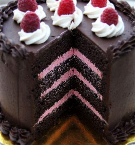 chocolate raspberry cake ideas  pinterest