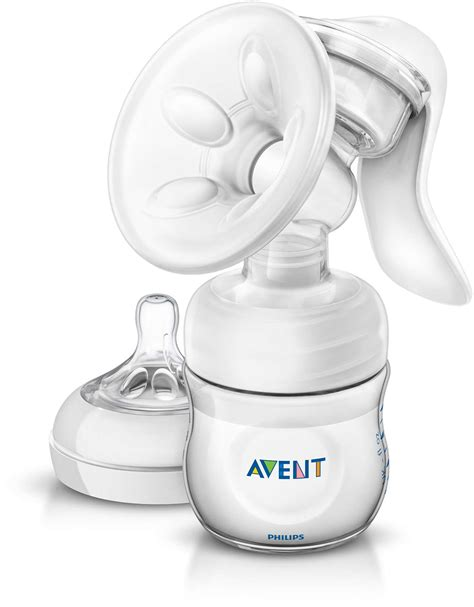 Manual Breast Pump With Bottle Scf33020 Avent
