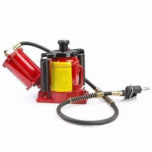 20 Ton Air Manual Pneumatic Hydraulic Low Profile Bottle