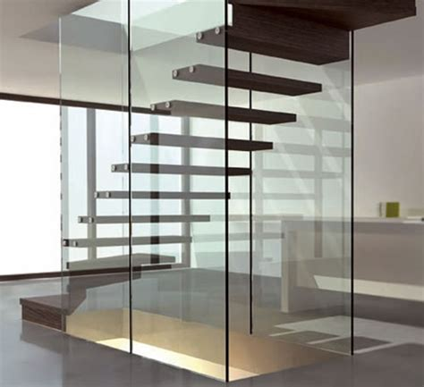 Kitchen Backsplashes Ideas - 10 the most cool glass staircase designs digsdigs