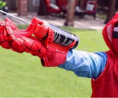 Shooter String Silly Spider Spiderman Dispositivo Estrusione