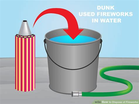 How To Dispose Of Fireworks 6 Steps (with Pictures)  Wikihow
