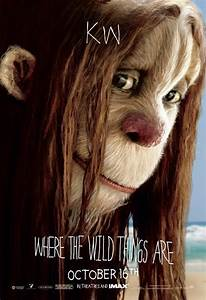 Where The Wild Things Are Character Movie Posters!