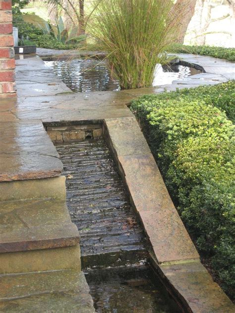 water rill design a stone rill earthartdesign pinterest front porches so in love and deserts
