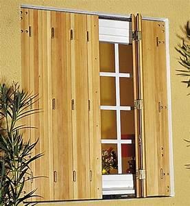 Volet Pliant Bois : volet pliant sur mesure mesdemos ~ Melissatoandfro.com Idées de Décoration