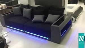 Big Sofa Led Beleuchtung : nativo m bel sterreich big sofa vice mit led beleuchtung youtube ~ Bigdaddyawards.com Haus und Dekorationen