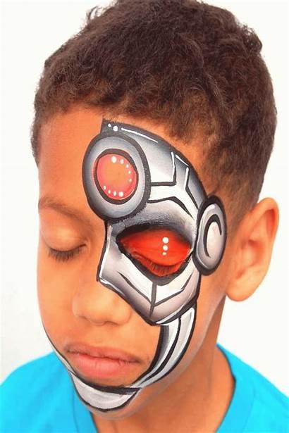 Maquillaje Cyborg Toprated20 Guardado Desde Infantil Fantasia