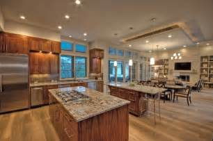 houzz kitchen lighting ideas kitchen dining living room combo