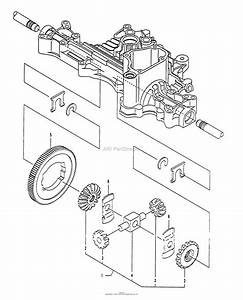 Husqvarna Tuff Torq K55j Transaxle Parts Diagram For Diff