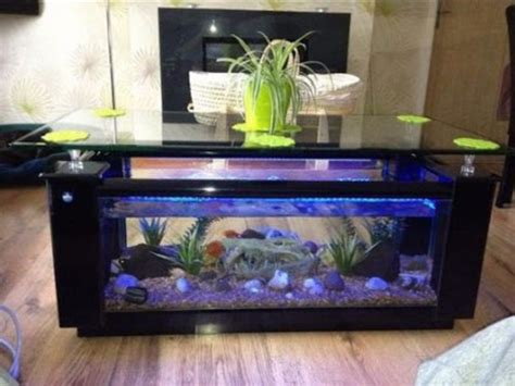 Fish Tank Coffee Table Design Images Photos Pictures