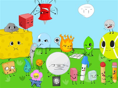 battle for island by redkitty50 on deviantart bfdi bfb 0 objects doodles island