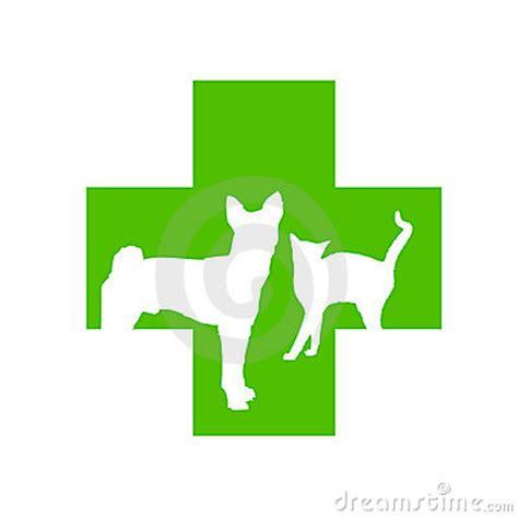 veterinary cross logo stock photography image