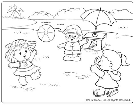 beach coloring pages bestofcoloringcom