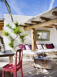 le style mediterraneen pour la deco de votre espace exterieur With decoration terrasse exterieure moderne