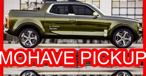 PHOTOSHOP New 2018 Kia Mohave Pickup @ Telluride Concept # ...