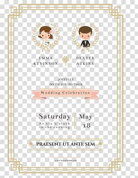 wedding invitation paper marriage  bride  groom wedding